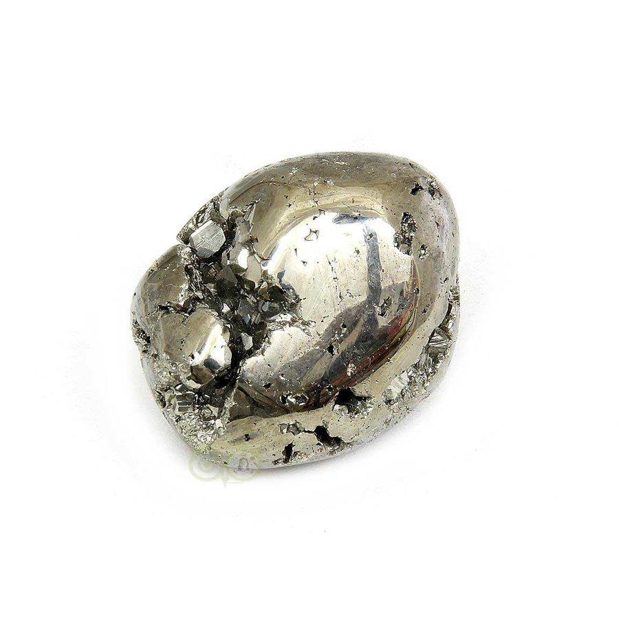 Pyriet trommelsteen Nr 29 - 54 gram-1