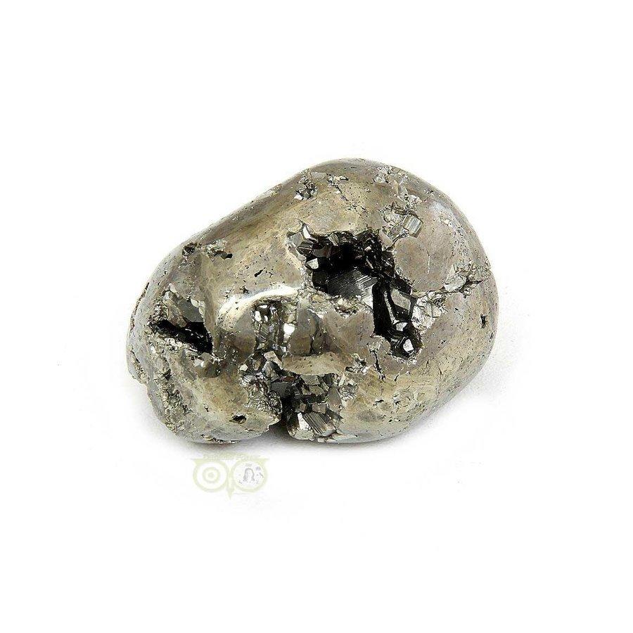 Pyriet trommelsteen Nr 29 - 54 gram-3