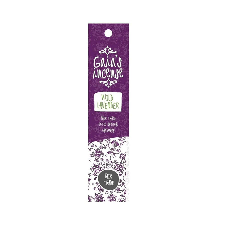 Gaia's incense Wild Lavender - 15 sticks-1