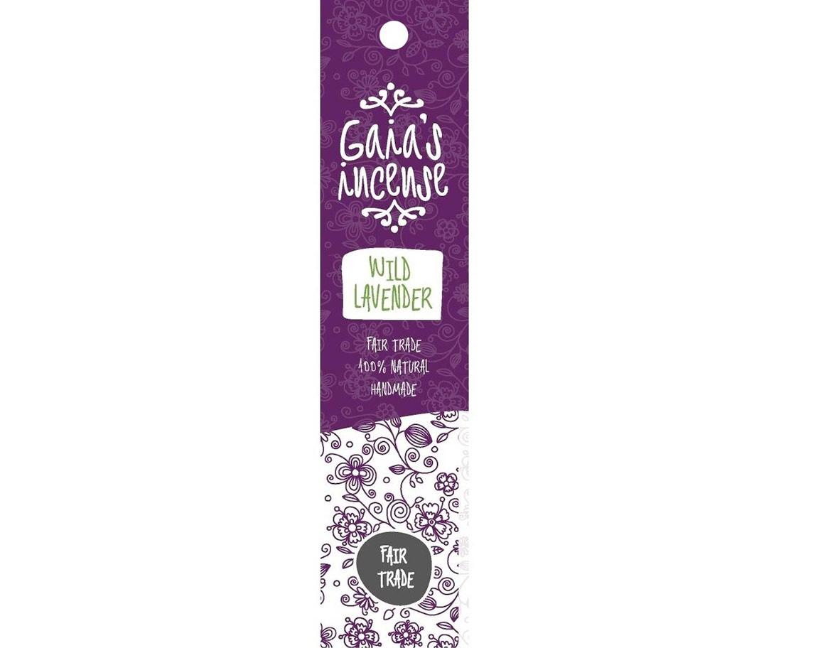 Gaia's Incense Wild lavender | Edelstenen Webwinkel - Webshop Danielle Forrer