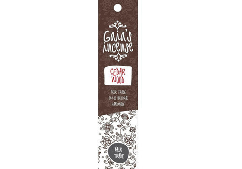 Gaia's incense Cedarwood