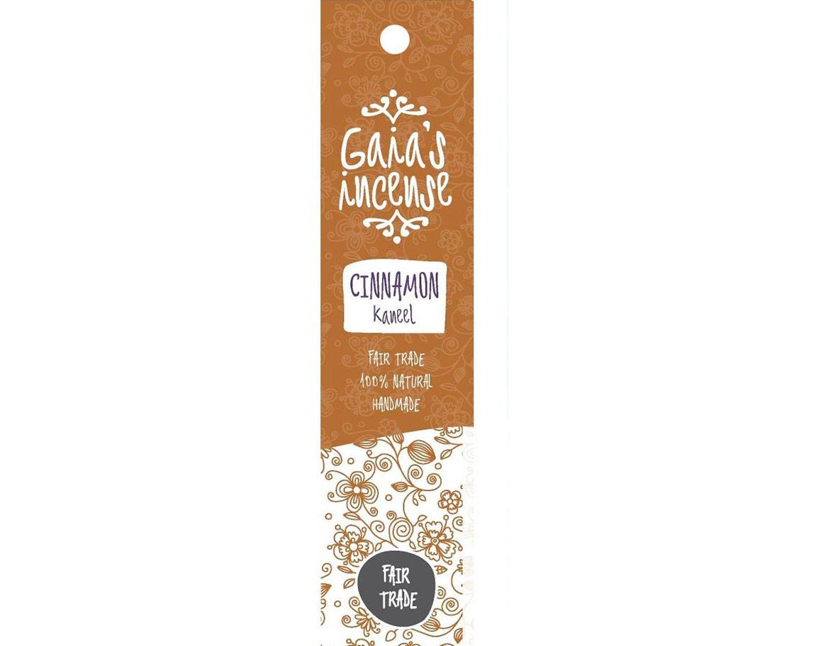 Gaia Incense Natuurlijk wierook Cinnamon - Kaneel | Edelstenen Webwinkel - Webshop Danielle Forrer