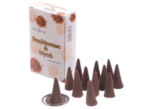 StamFord Frankincense & Mirre - 15 Cones