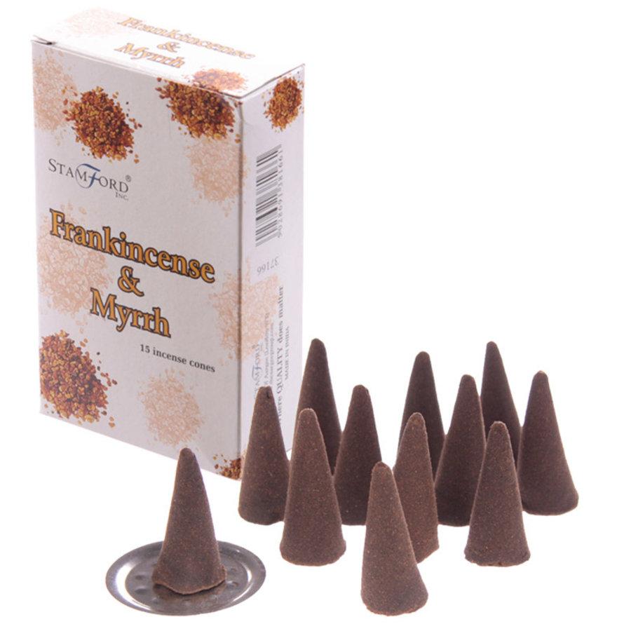 StamFord Frankincense & Mirre - 15 Cones-1