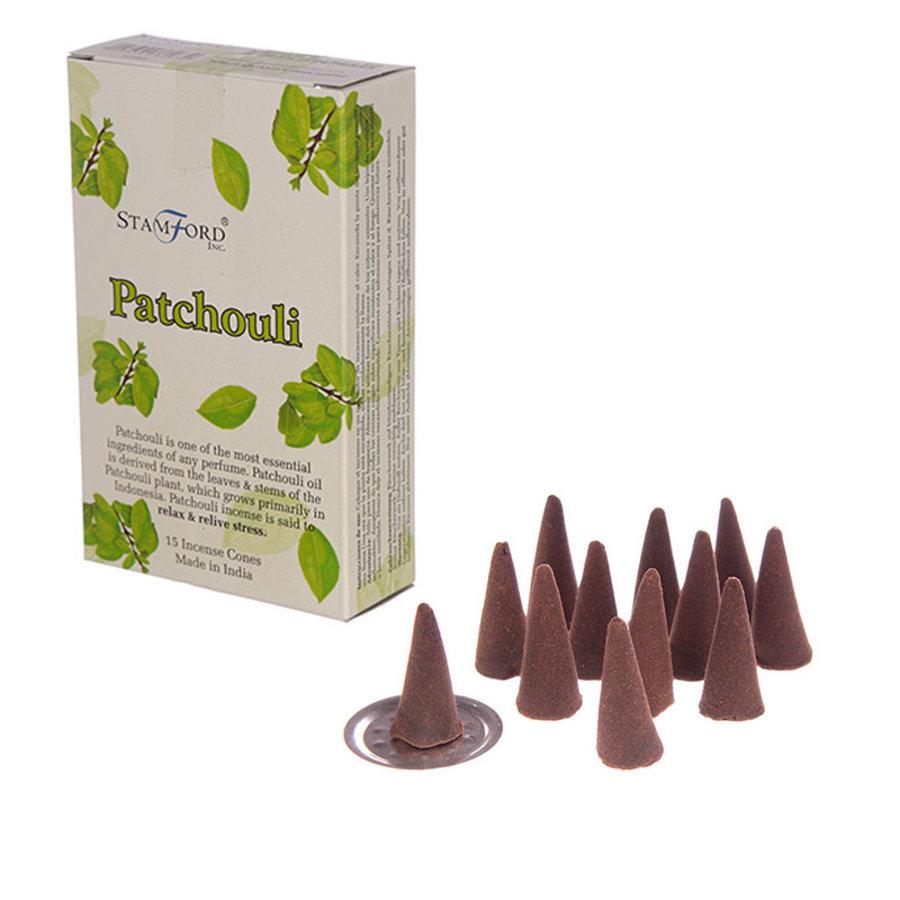 StamFord  Patchouli - 15 Cones-1