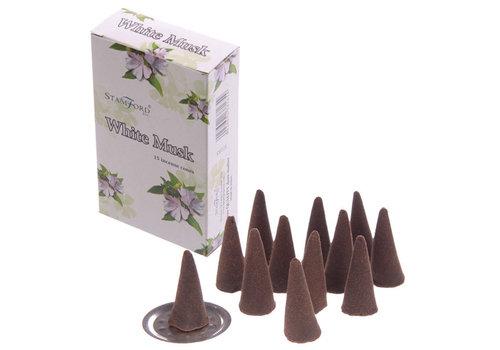 StamFord White Musk 15 Cones