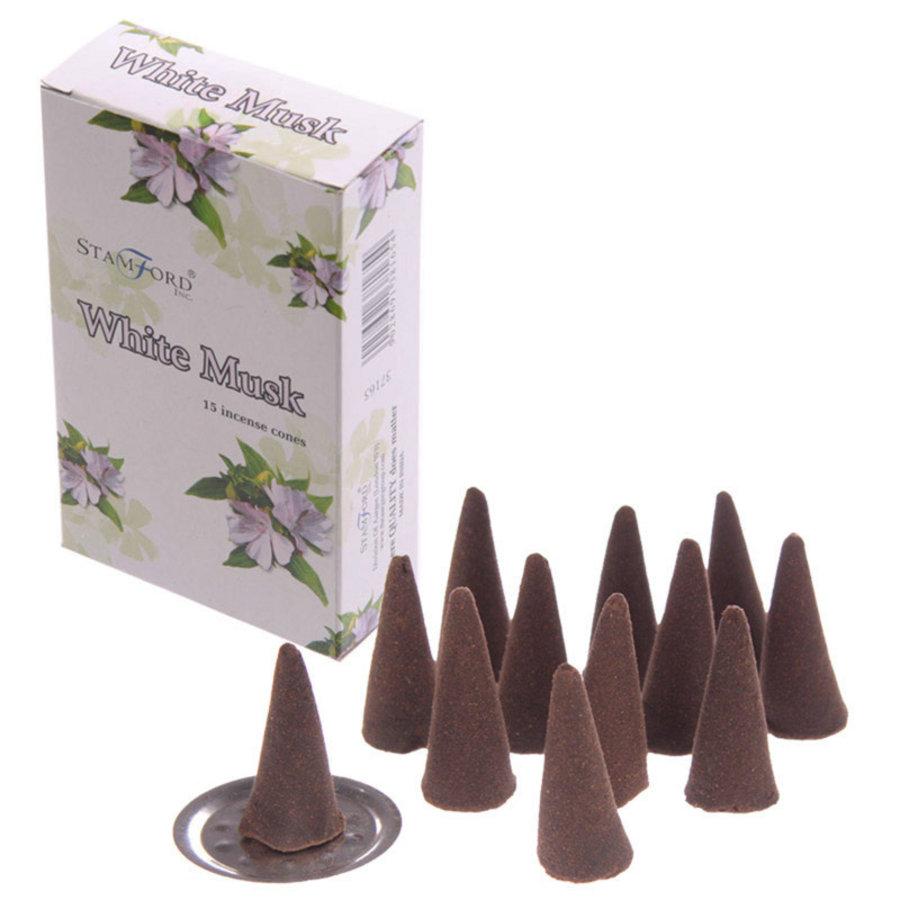 StamFord White Musk 15 Cones-1