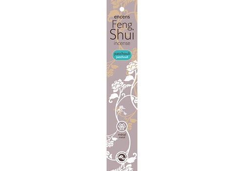 Feng Shui Incense Patchouli - Element Metaal