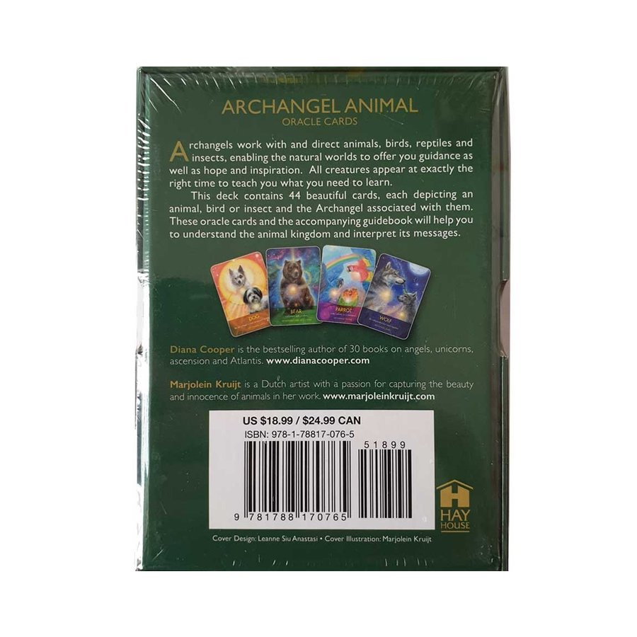 Archangel Animal Oracle Cards - Diana Cooper-2