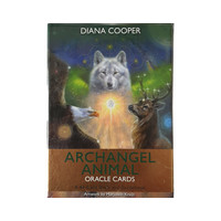 thumb-Archangel Animal Oracle Cards - Diana Cooper-1