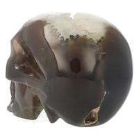 thumb-Agaat Geode kristallen schedel - 1, 5 kilo-5