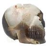 Agaat Geode kristallen schedel - 1, 5 kilo