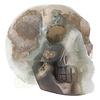 Agaat Geode schedel - 963 gram