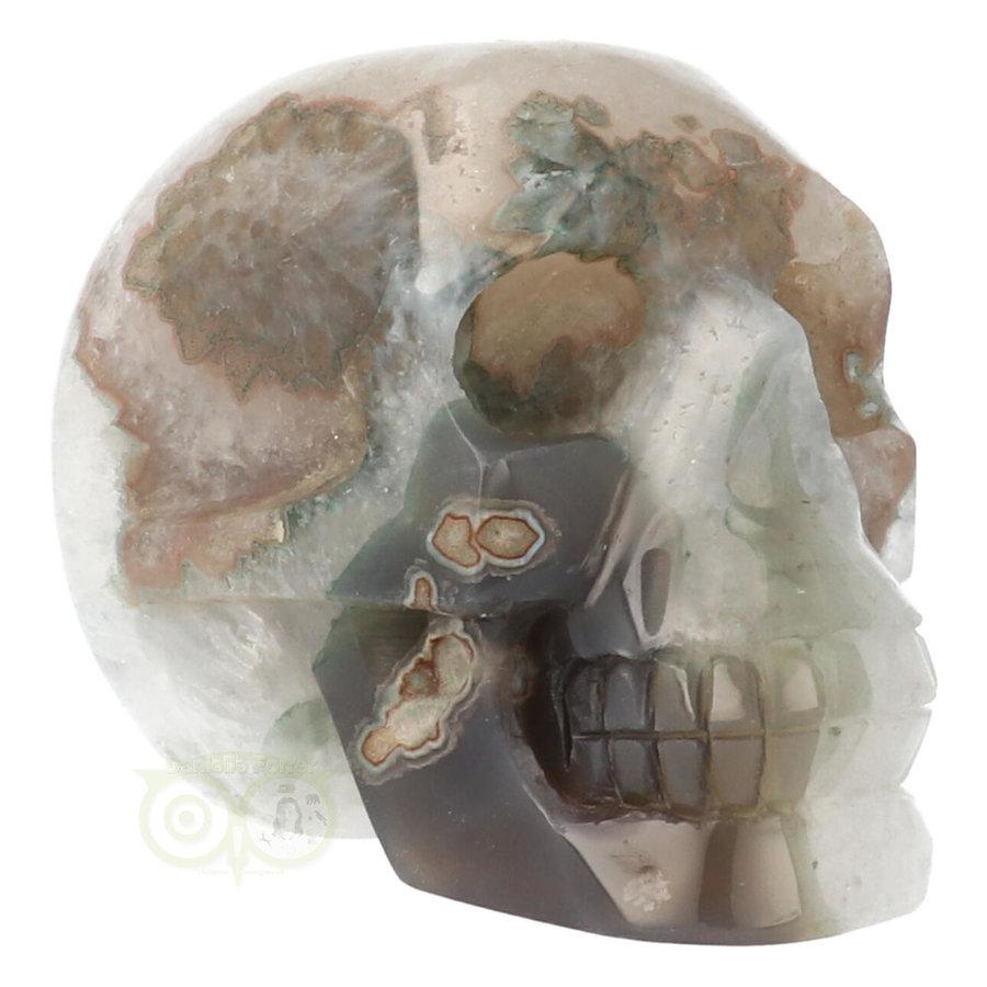 Agaat Geode schedel - 963 gram-1