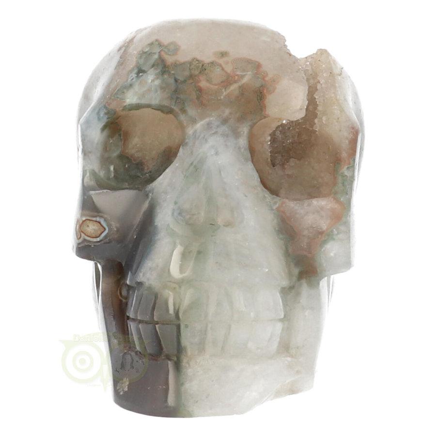 Agaat Geode schedel - 963 gram-2