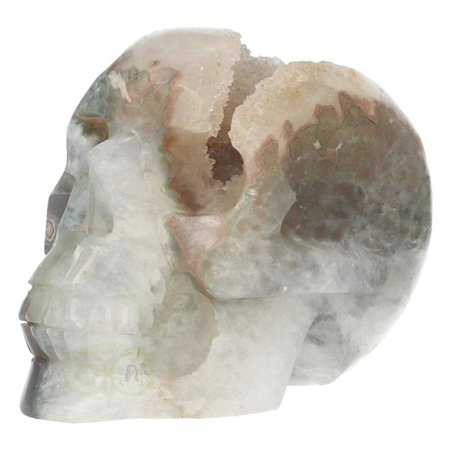 Agaat Geode schedel - 963 gram-3