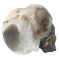 thumb-Agaat Geode schedel - 963 gram-7