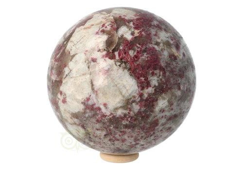 Rubeliet ( rode toermalijn ) Bol 89 mm 1 kg