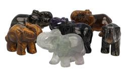 Olifant | Edelstenen olifant | Olifantjes | Edelstenen Webwinkel - Webshop Danielle Forrer