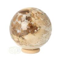 thumb-Jaspis Conglomeraat Bol Nr 3 - 237 gram-2