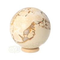 thumb-Jaspis Conglomeraat Bol Nr 3 - 237 gram-4