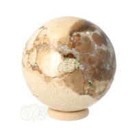 thumb-Jaspis Conglomeraat Bol Nr 3 - 237 gram-6