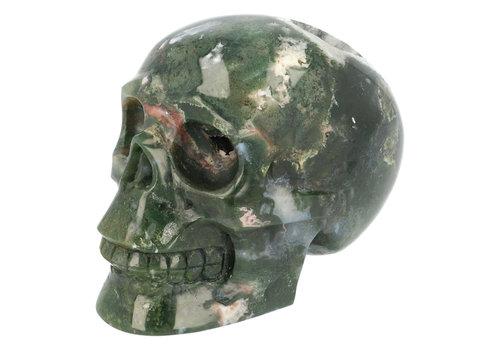 Mosagaat schedel 984 gram