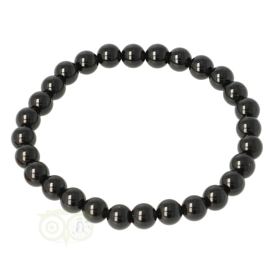 Zwarte Toermalijn armband-1