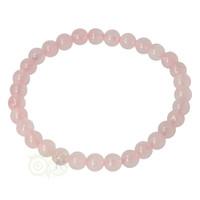 Armband rozenkwarts - 19 cm