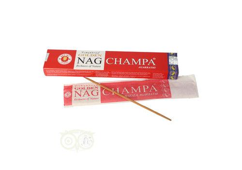 Wierooksticks Golden Nag Champa masala