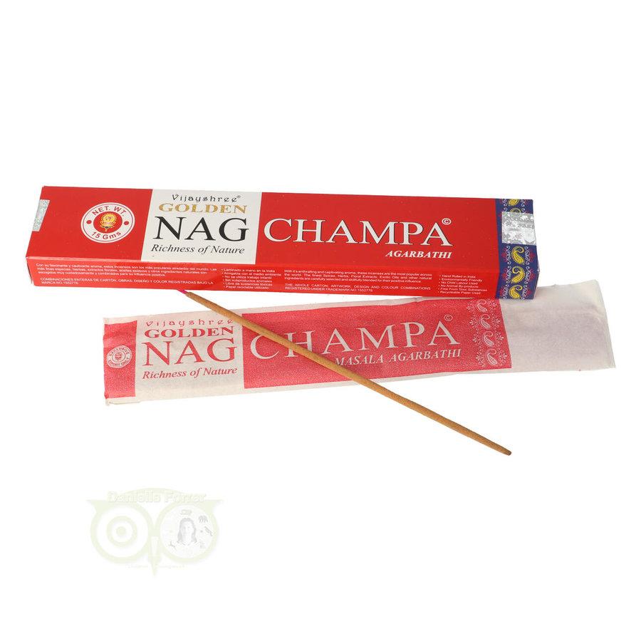 Wierooksticks Golden Nag Champa masala-1