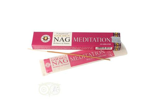 Wierooksticks Golden Nag Meditation
