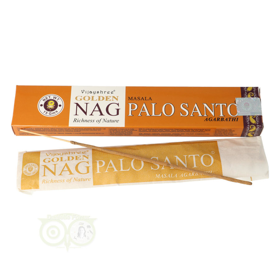 Wierooksticks Golden Nag Palo Santo - 12 Sticks-1