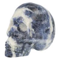 thumb-Sodaliet kristallen schedel 203 gram-3