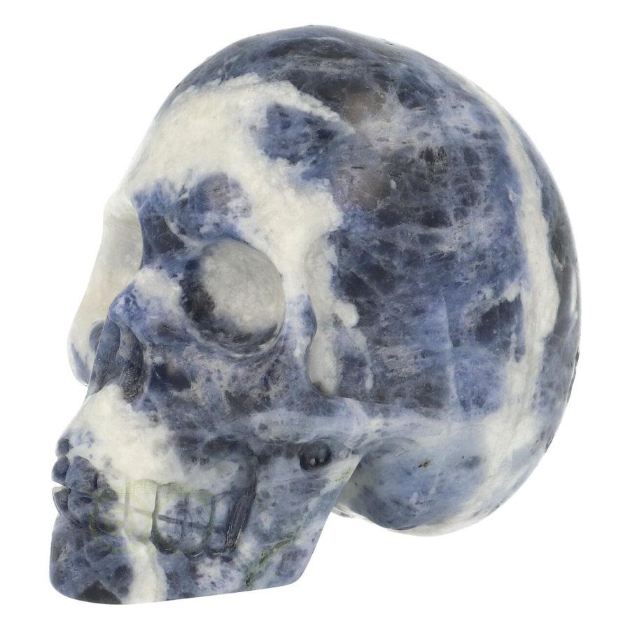 Sodaliet kristallen schedel 203 gram-3