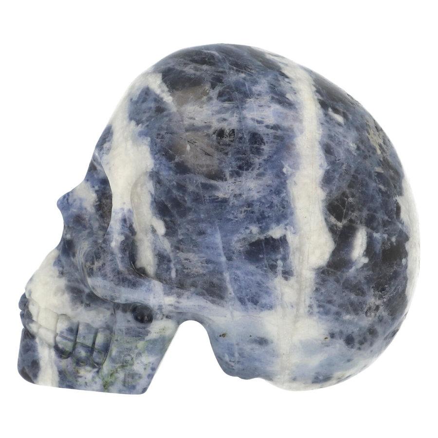 Sodaliet kristallen schedel 203 gram-4