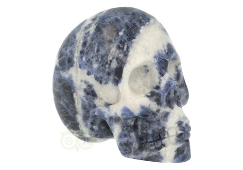 Sodaliet kristallen schedel 203 gram