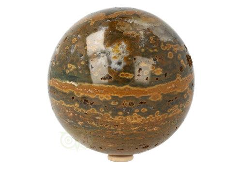 Oceaan Jaspis Bol 11,5 cm Nr 1 - 1,8 kilo