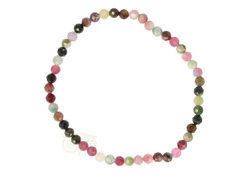 Armband toermalijn Multi-colour - 19 cm