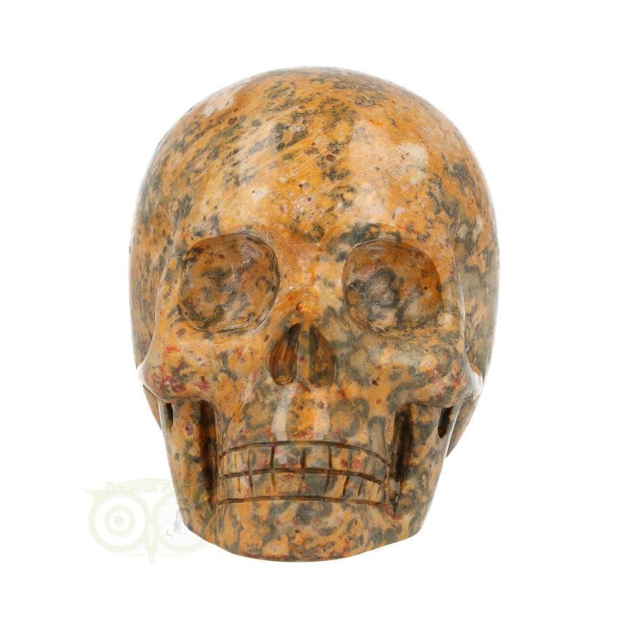 Jaspis Breccie kristallen schedel 260 gram-3