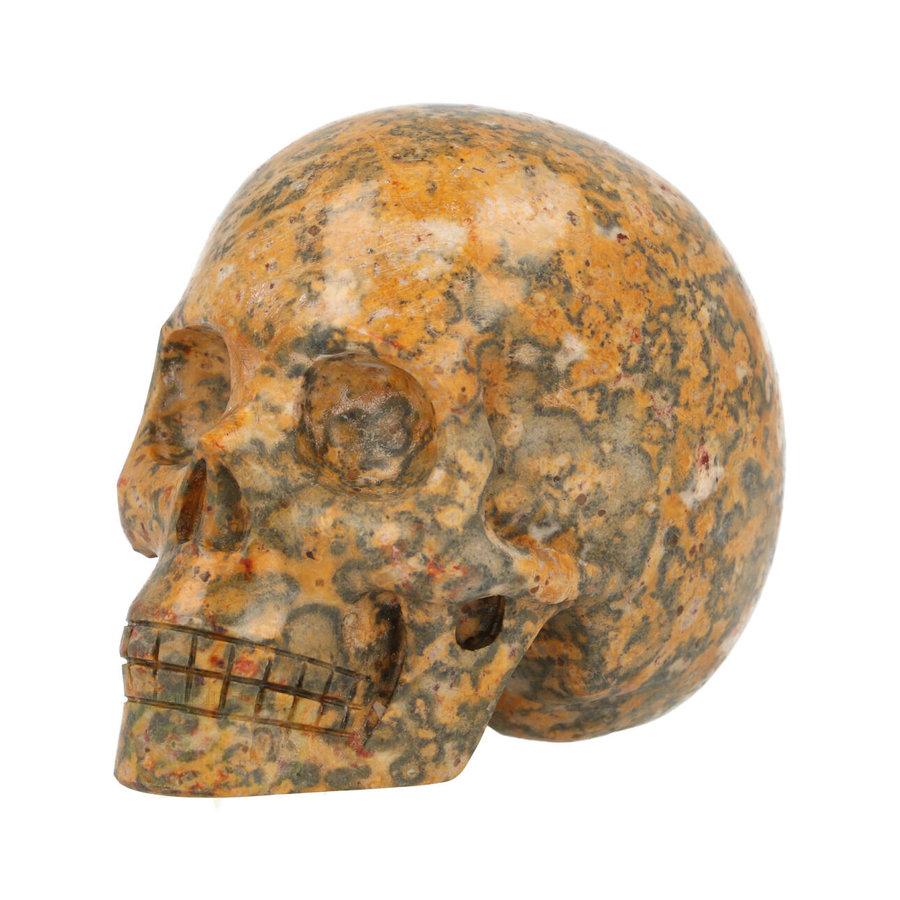 Jaspis Breccie kristallen schedel 260 gram-4