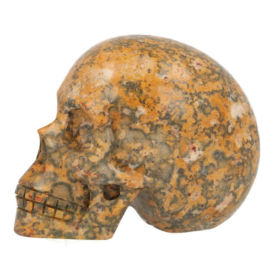 Jaspis Breccie kristallen schedel 260 gram-5