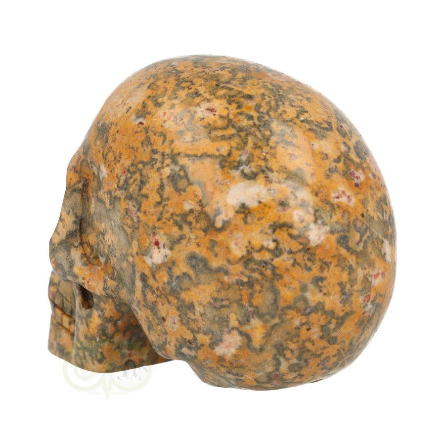 Jaspis Breccie kristallen schedel 260 gram-7