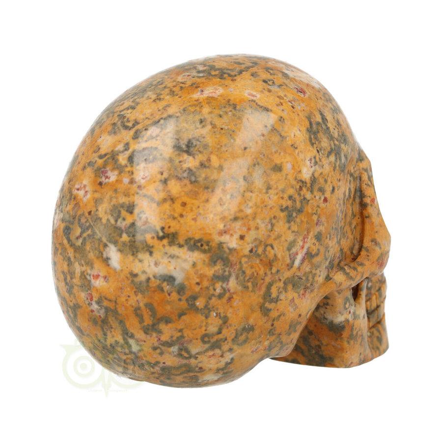 Jaspis Breccie kristallen schedel 260 gram-9