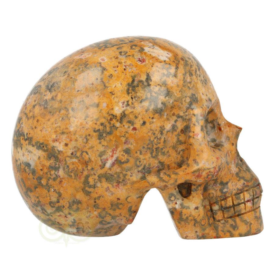 Jaspis Breccie kristallen schedel 260 gram-10
