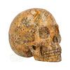 Jaspis Breccie kristallen schedel 260 gram