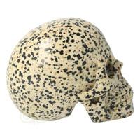 thumb-Dalmatiër Jaspis Schedel 323 gram-9