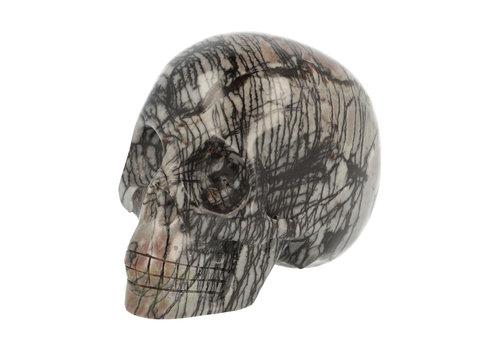 Picasso Jaspis Schedel 285 gram