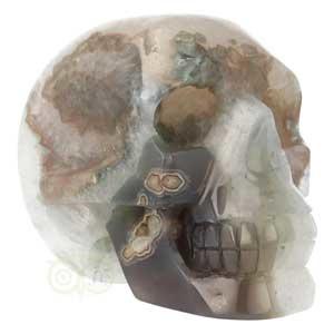 Agaat goede schedel | kristallen schedels kopen | Edelstenen Webwinkel - Webshop Danielle Forrer