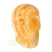thumb-Oranje Calciet schedel 438 gram-3